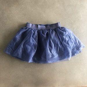 Cat & Jack tulle Navy toddler skirt - size 2t